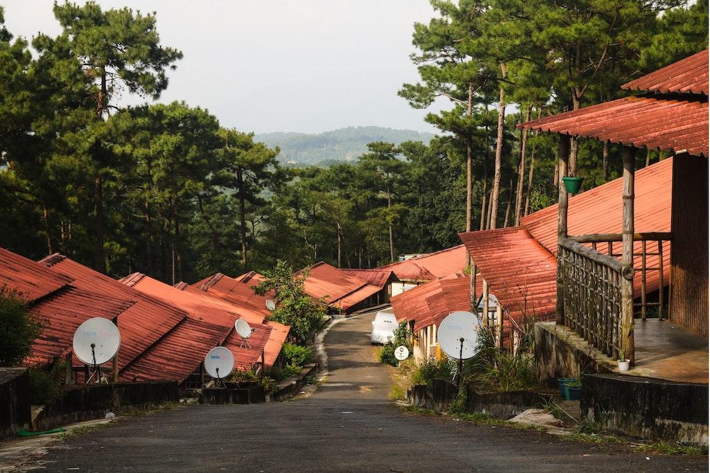 The beautiful lanes of Shillong