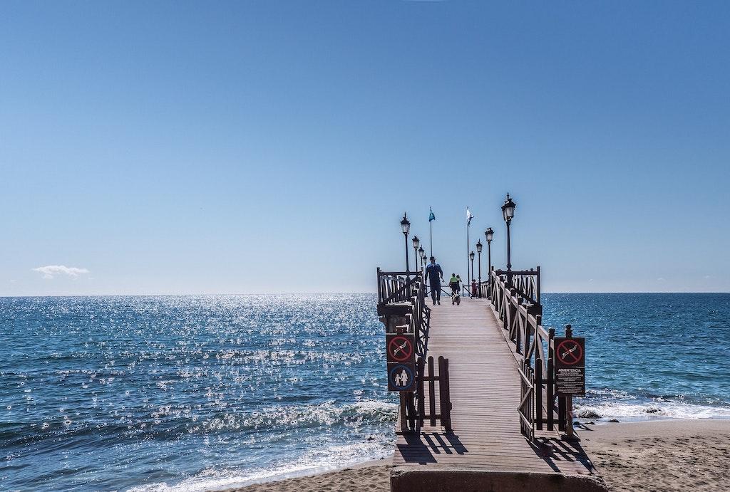 Marbella Jetty, Spain