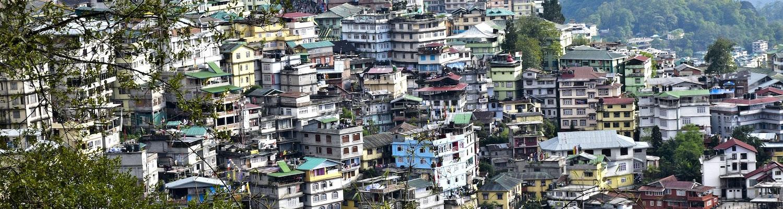Landscape Gangtok Sikkim
