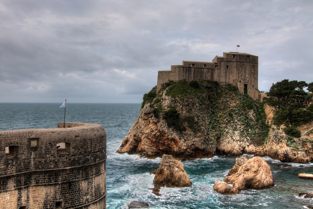 fort overlooking the sea