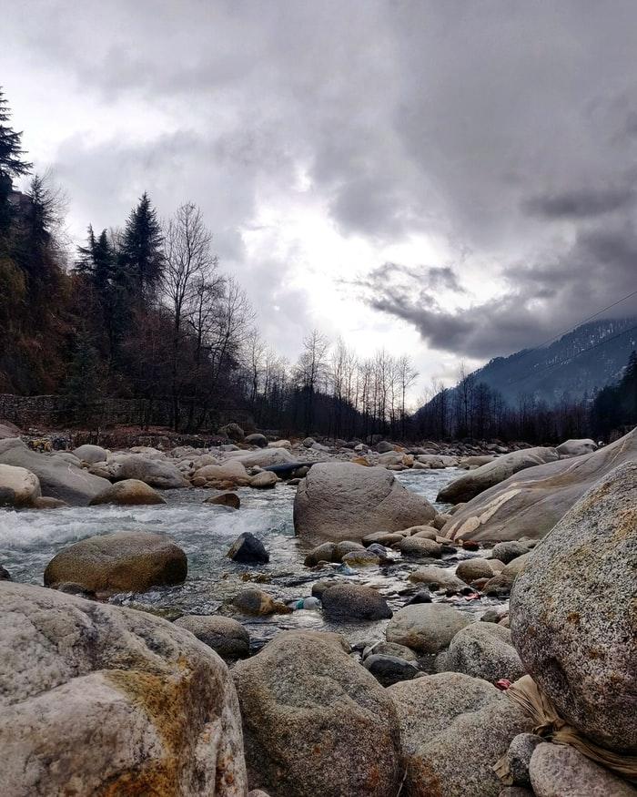 a river in manali