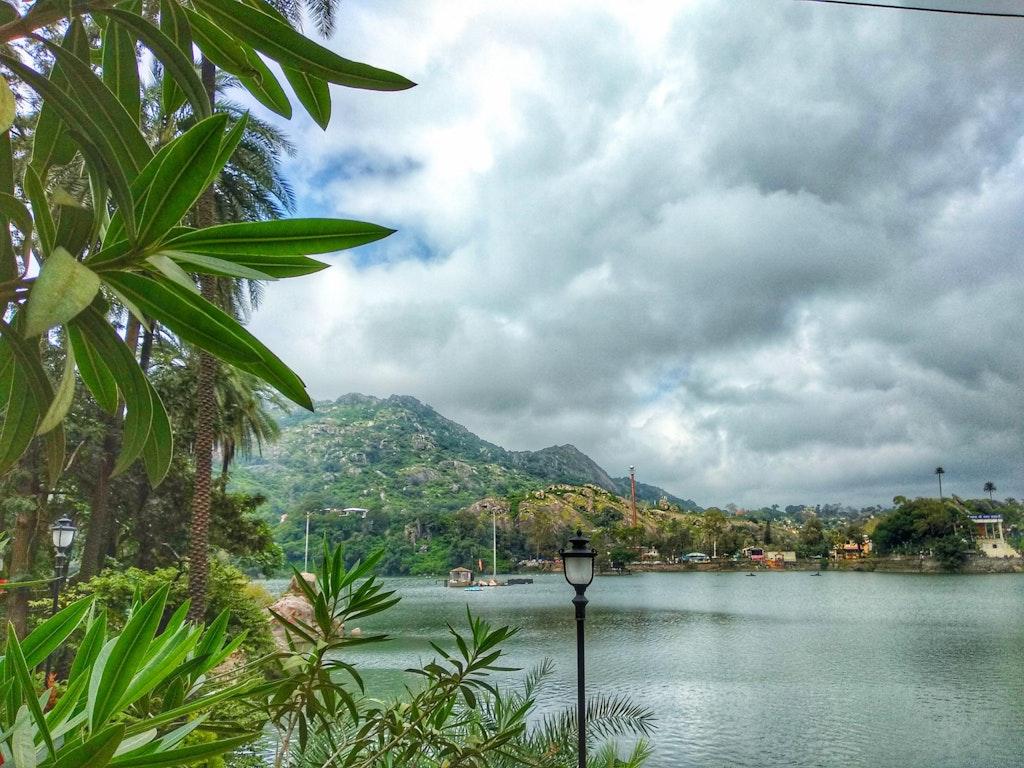 View of the nakki lake