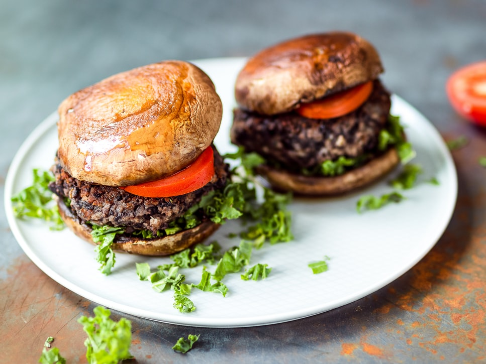 Farm fresh burgers in Napa Valley
