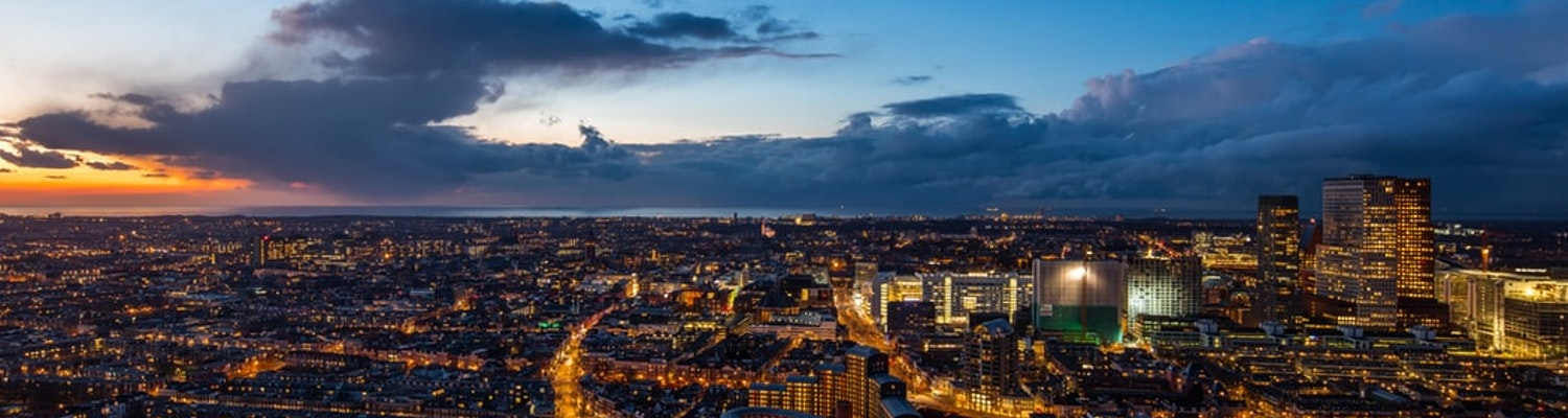 The busy city of Hague