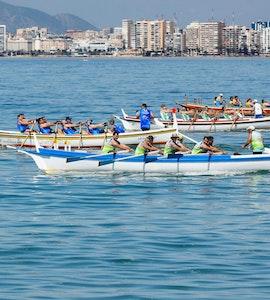 Boating in beaches of Malaga