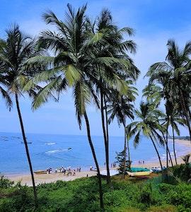 A click of a beach in Goa