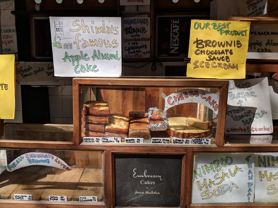 a shop in shimla bazaar
