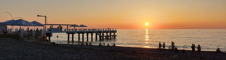 Sun set in Batumi