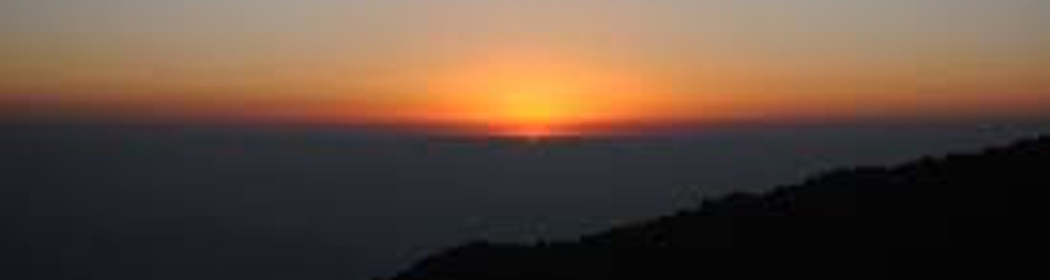 sunrise in the tiger hill