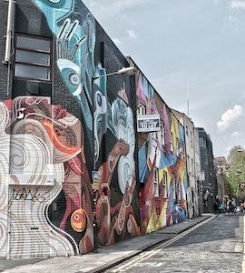 Street art in Shoreditch London