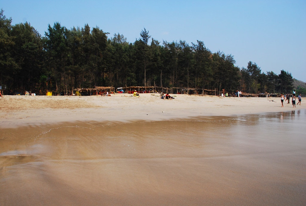Kashid Beach, Alibag