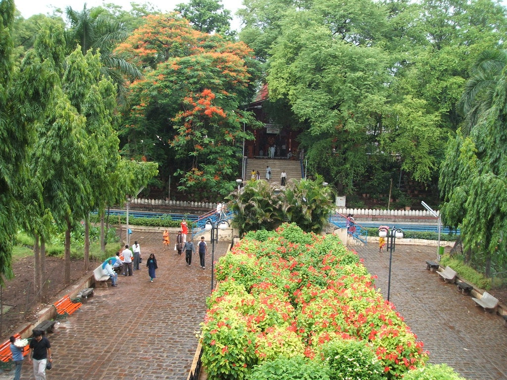 Saras Baug Garden in Pune