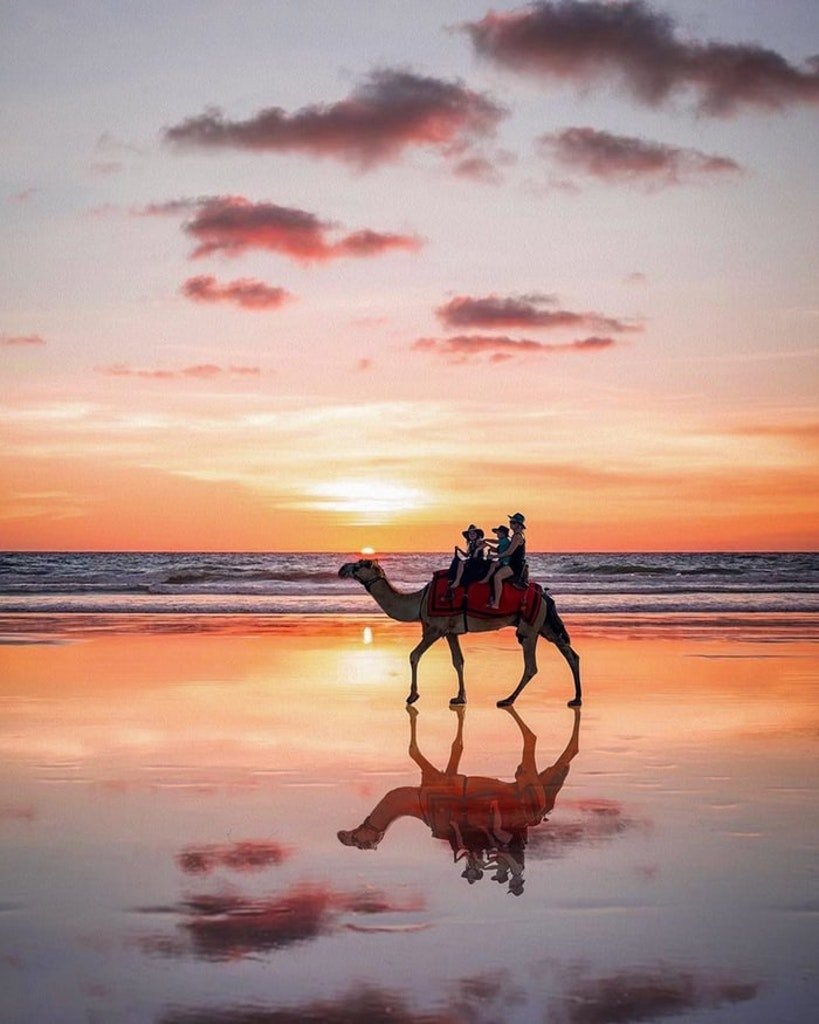 Cable beach in Broome, Kimberley