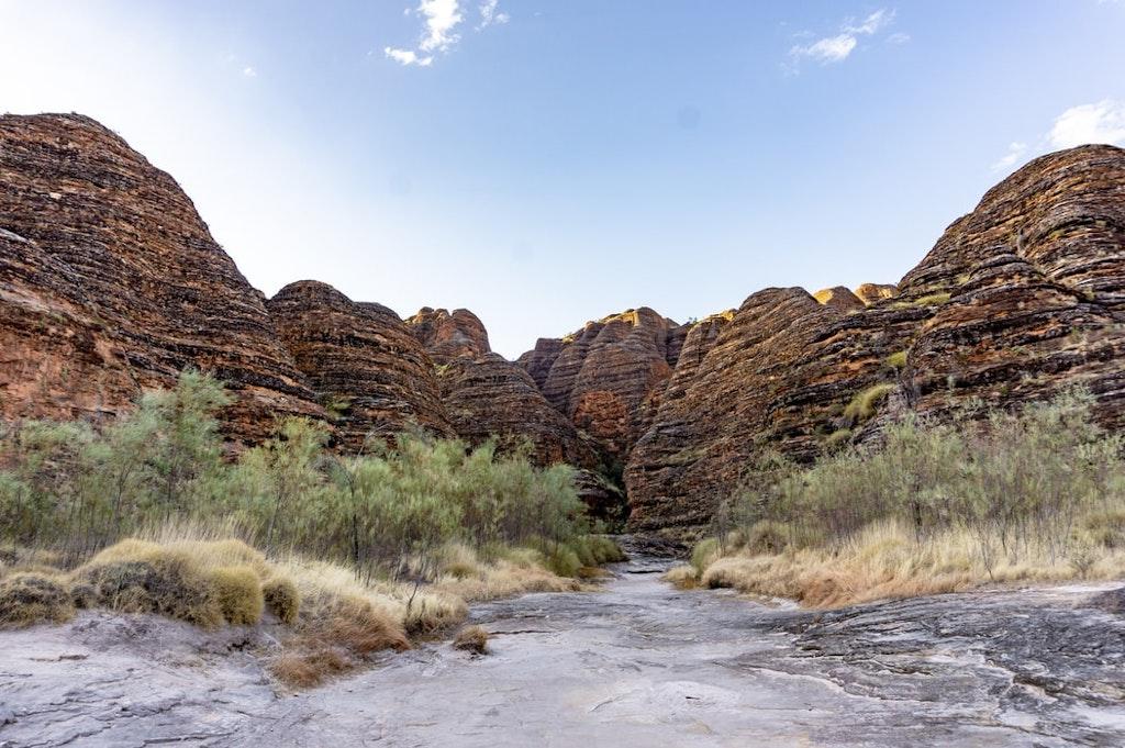 Bungle Bungle Ranges in Kimberley