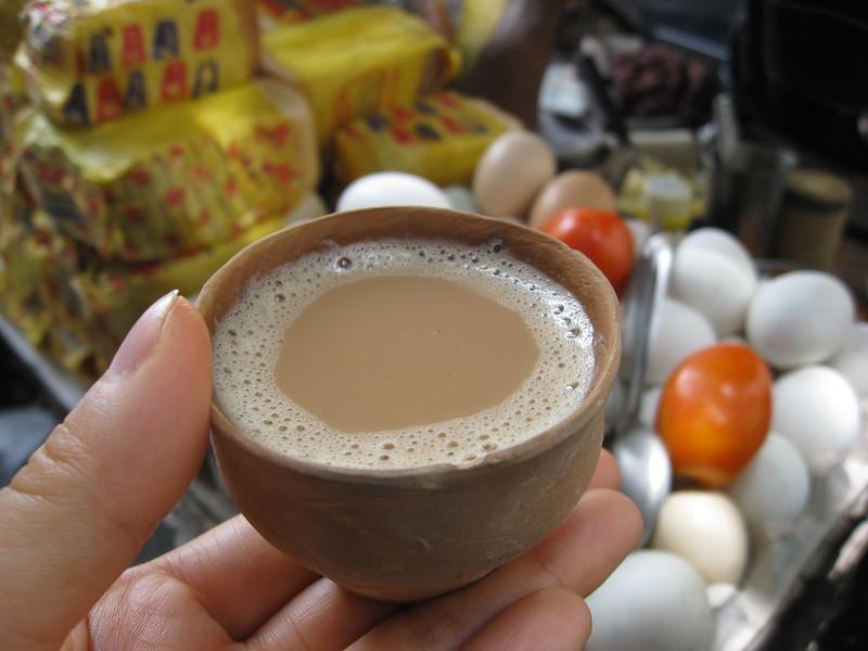 Chai at Kolkata street food