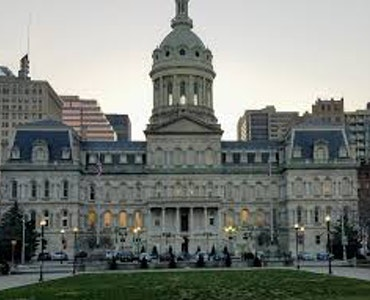 City hall in Maryland