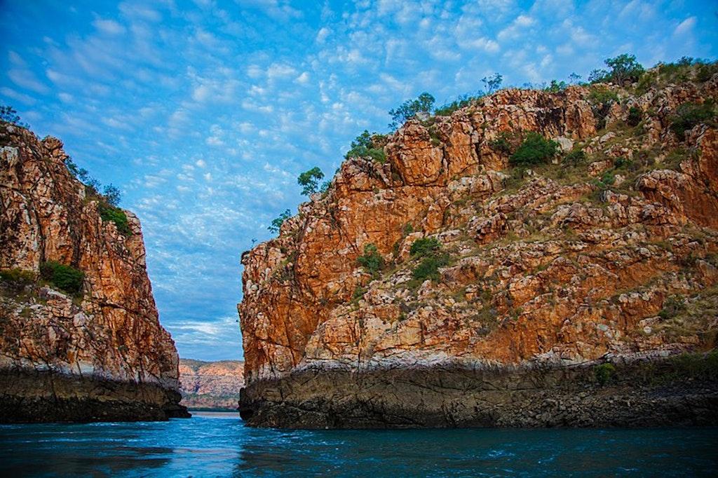 Horizontal falls in Kimberley