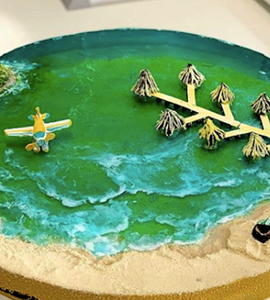 Island cakes - Bite into miniature versions of paradise