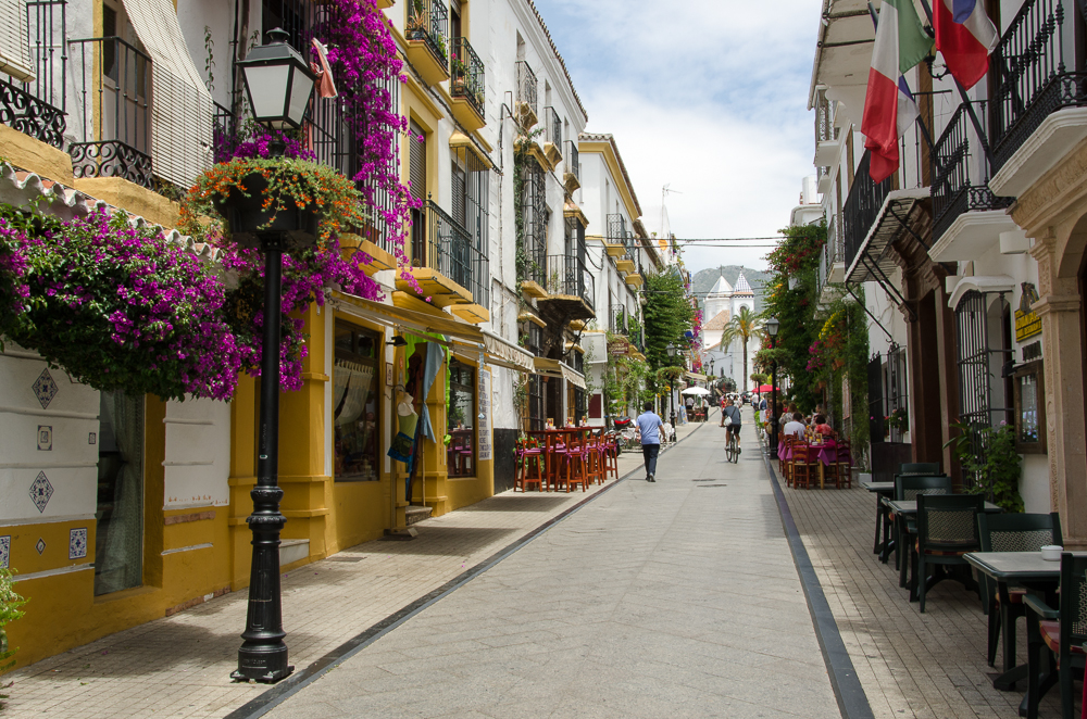 The old town of Marbella