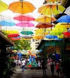 Port Louis' central market