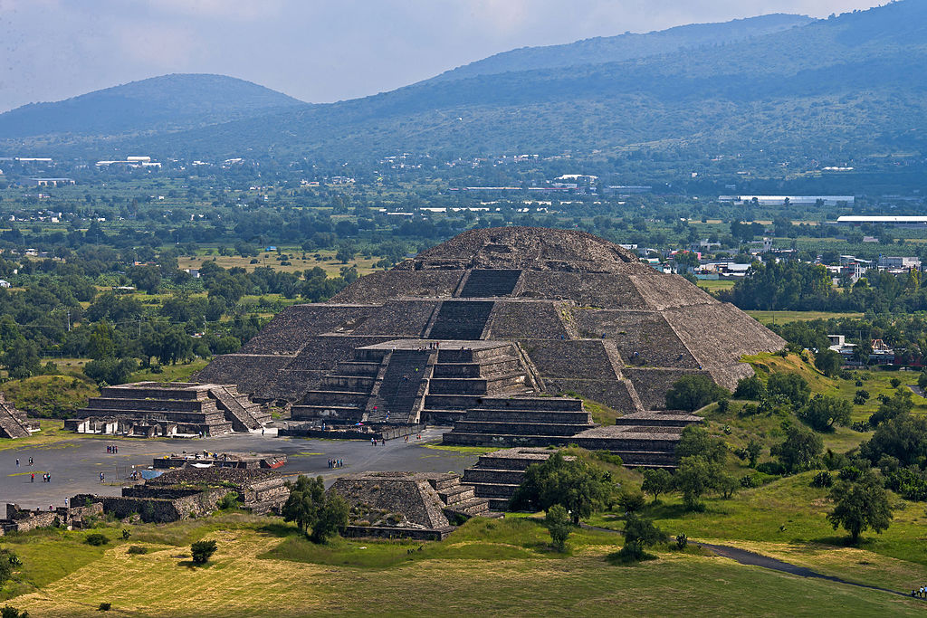 Pyramid of the Moon in Mexico