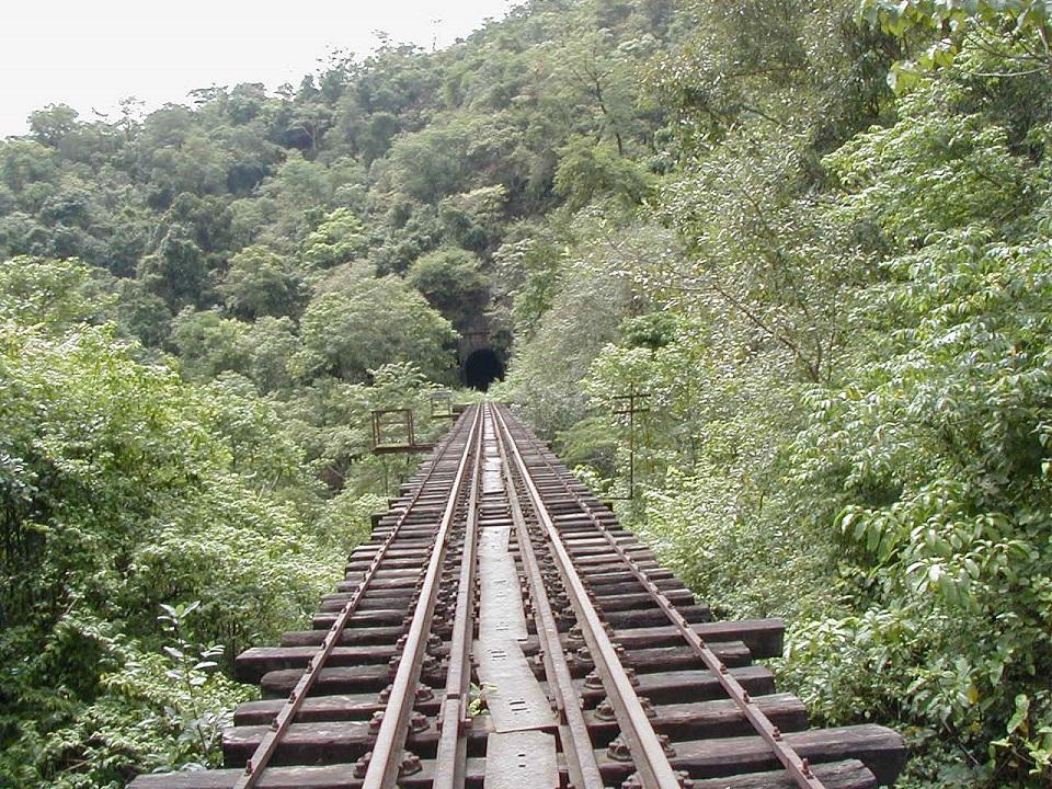 The famous Railway Bridge in Sakleshpur.