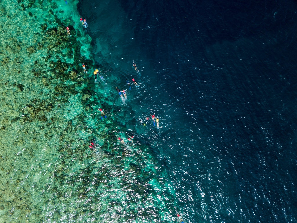 Snorkelling from Pulau Payar Marine Park
