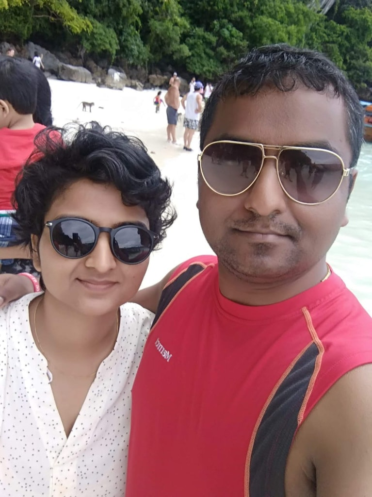 Pic with my husband during Dubai Staycation