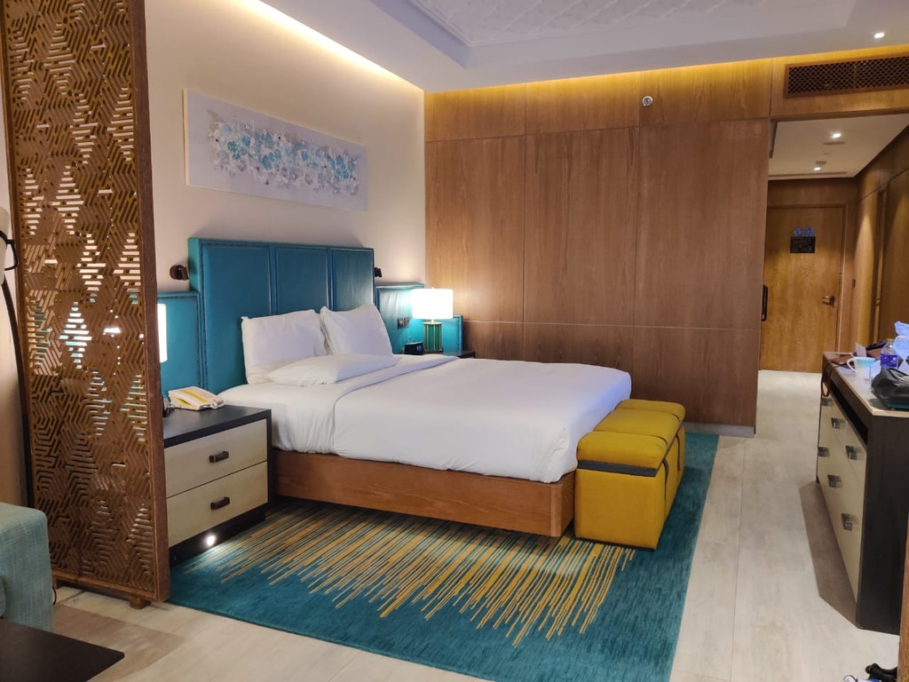 luxurious room during Dubai Staycation