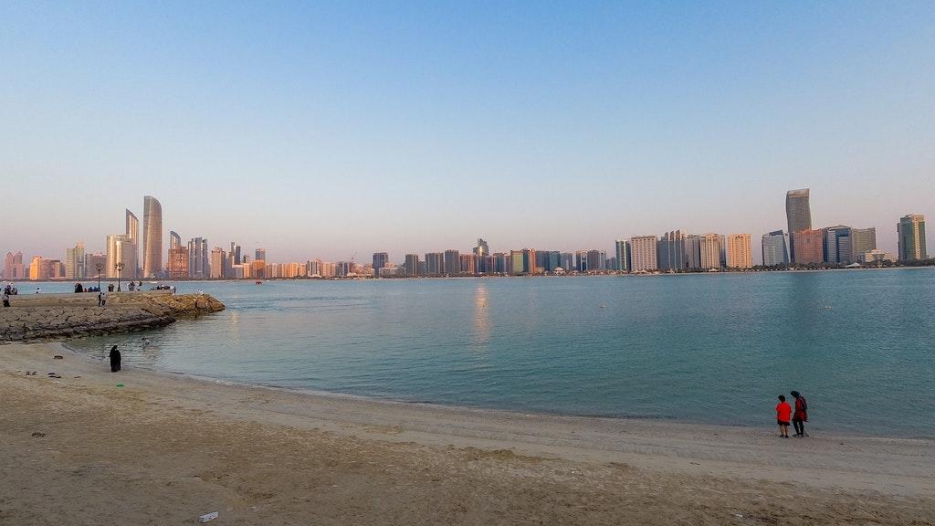 Sea in Abu Dhabi