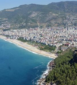 Panorama of Alanya resort city