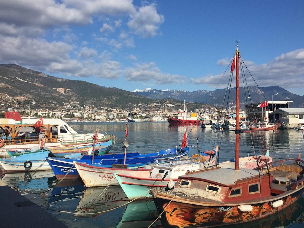 The beautiful Alanya Harbour
