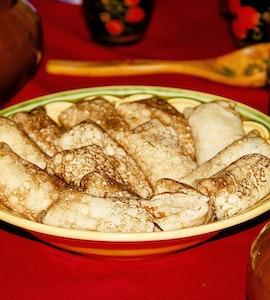 A dish in Kutaisi