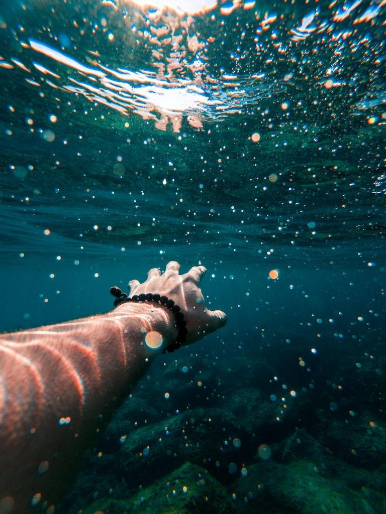 Underwater in Tenerife