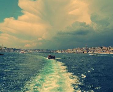 A beach in Istanbul