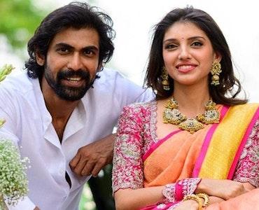 Rana and Miheeka engagement pic
