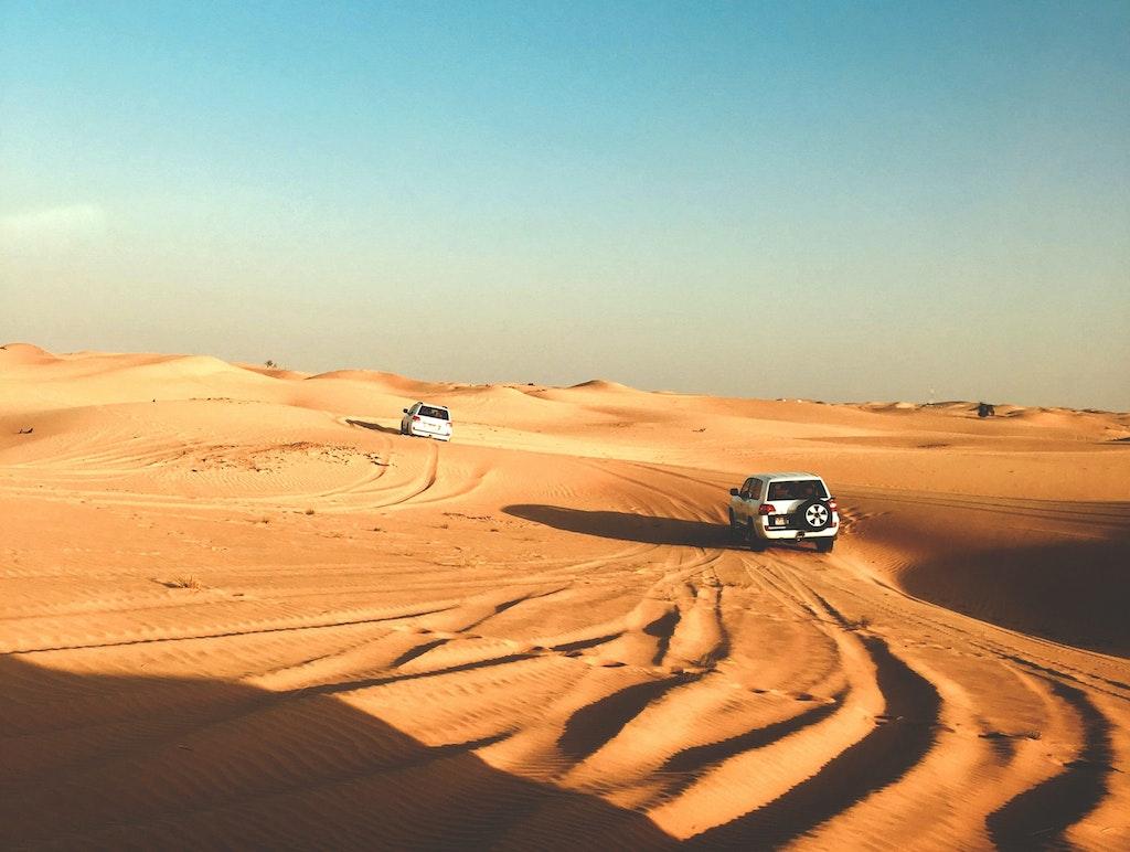 Abu Dhabi deserts