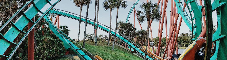 Roller coaster in Singapore