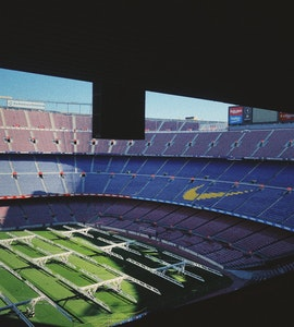 FC Stadium in Barcelona