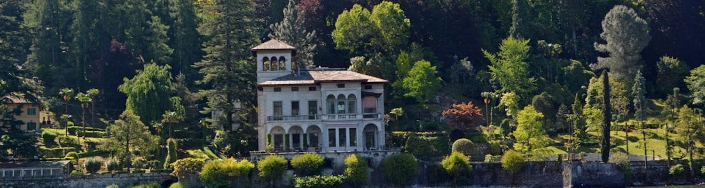 Beautiful lakes in Italy