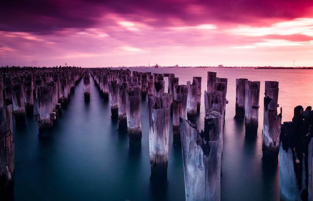 Princess Pier at Melbourne