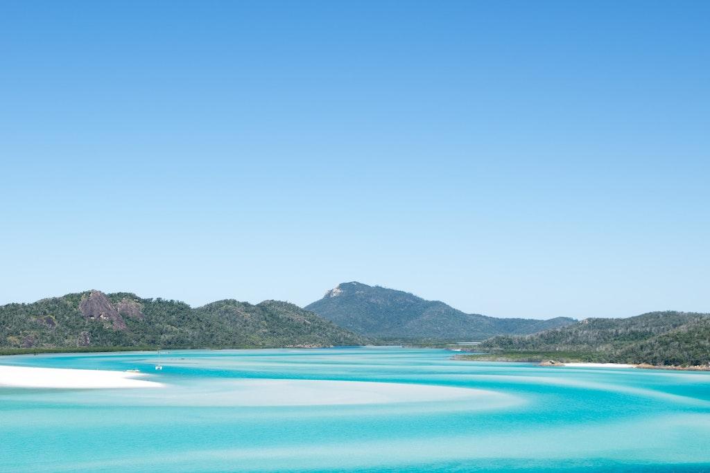 Whitehaven beach,Queensland