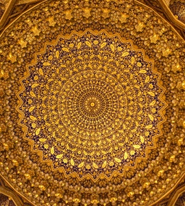 A ceiling in Samarkand