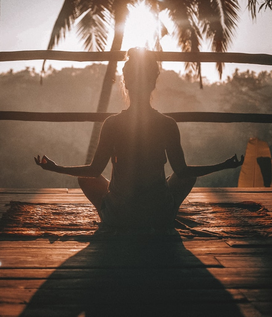 Yoga sessions in the luxury resorts in India