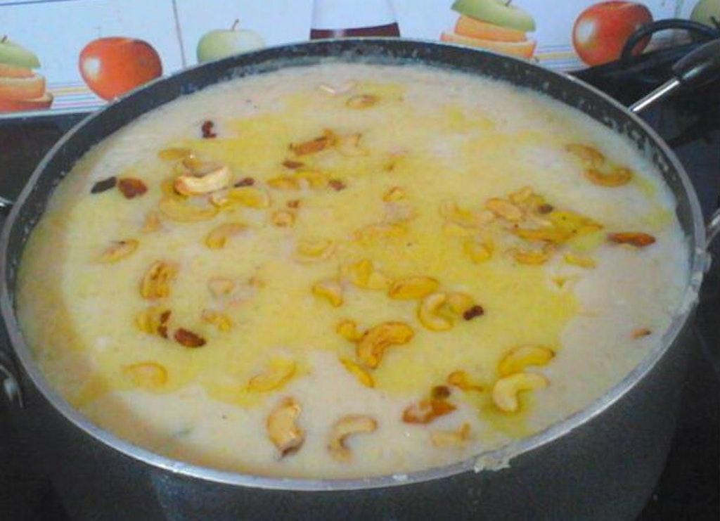 Paalada Payasam one of the top Kerala sweets