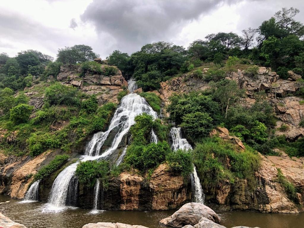 waterfalls in Kudremukh National Park