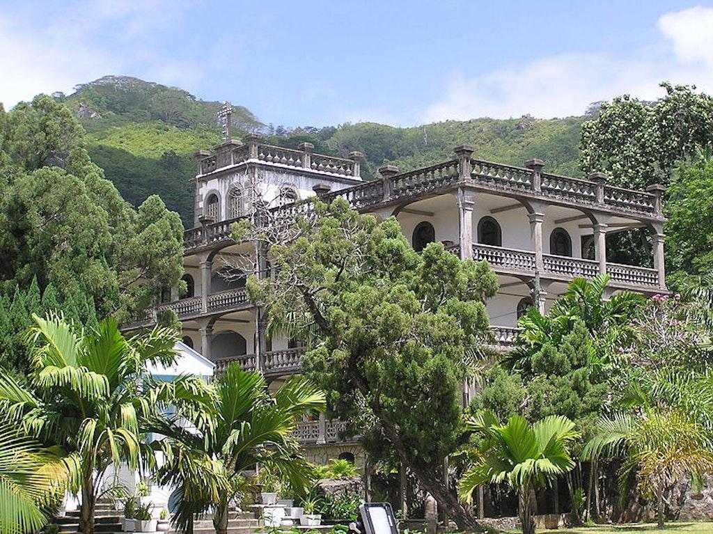 Victoria city in Seychelles