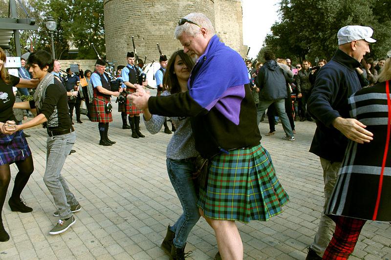 Celebration of St. Andrews day