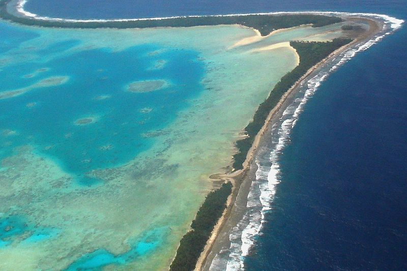 Tuvalu - smallest country in the world by population