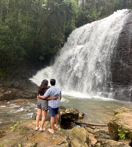 waterfalls visit during our staycation to Ayatana